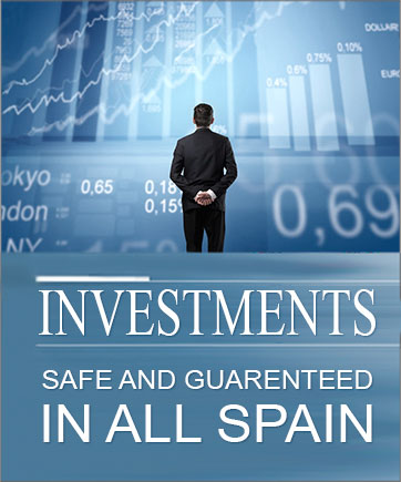 Investments safe and guarenteed in all Spain